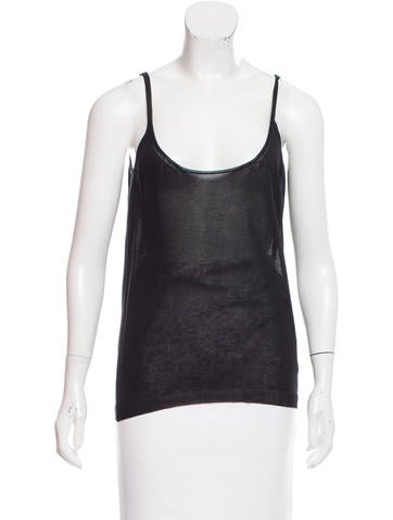 Lanvin Knit Sleeveless Top w/ Tags None