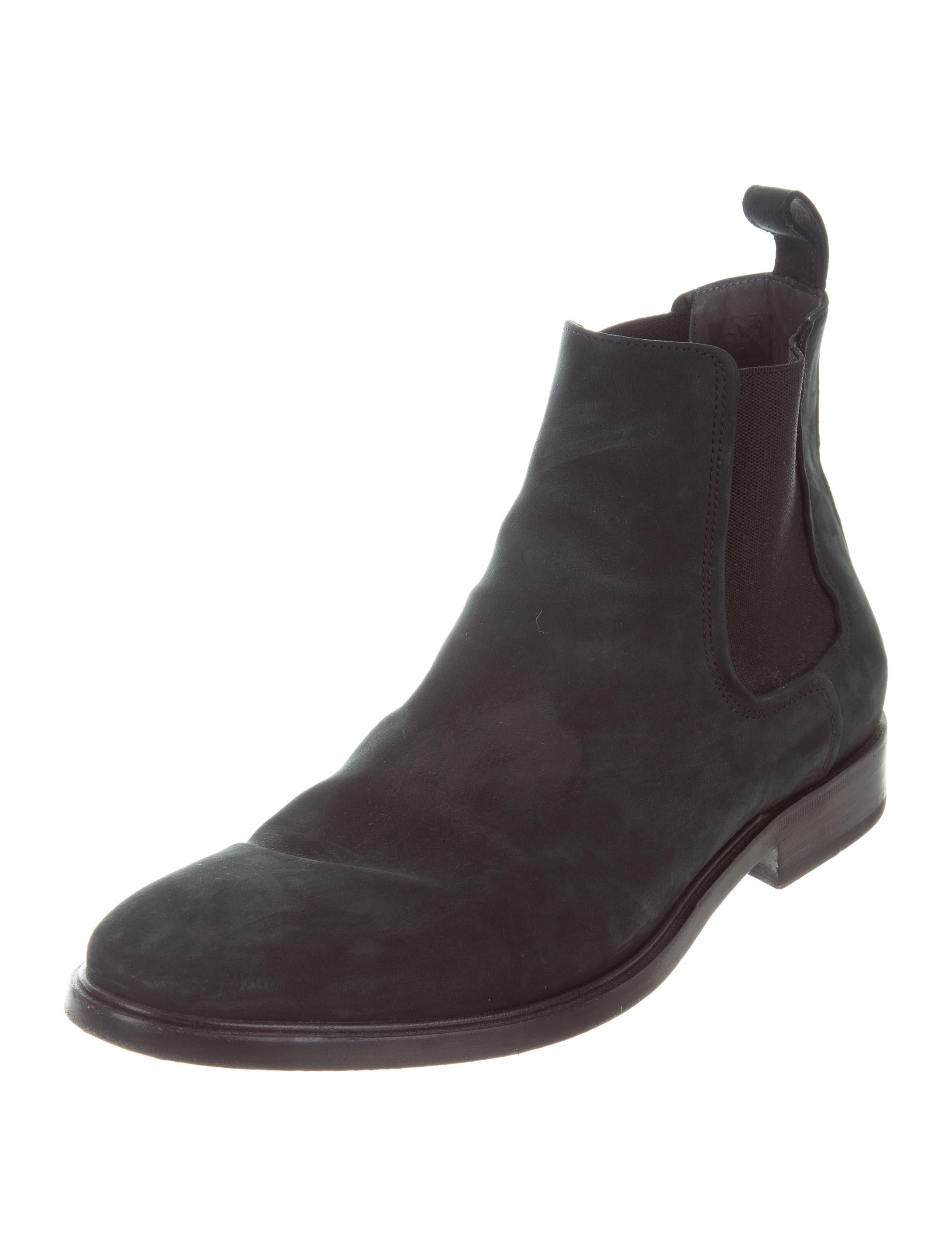 lanvin suede chelsea boots shoes lan63699 the realreal
