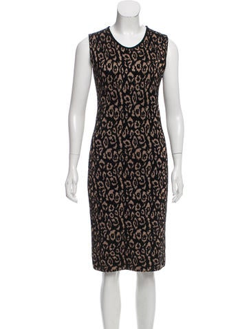 Lanvin Knit Embroidered Dress w/ Tags None