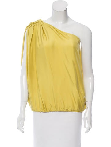 Lanvin Sleeveless Silk Top w/ Tags None