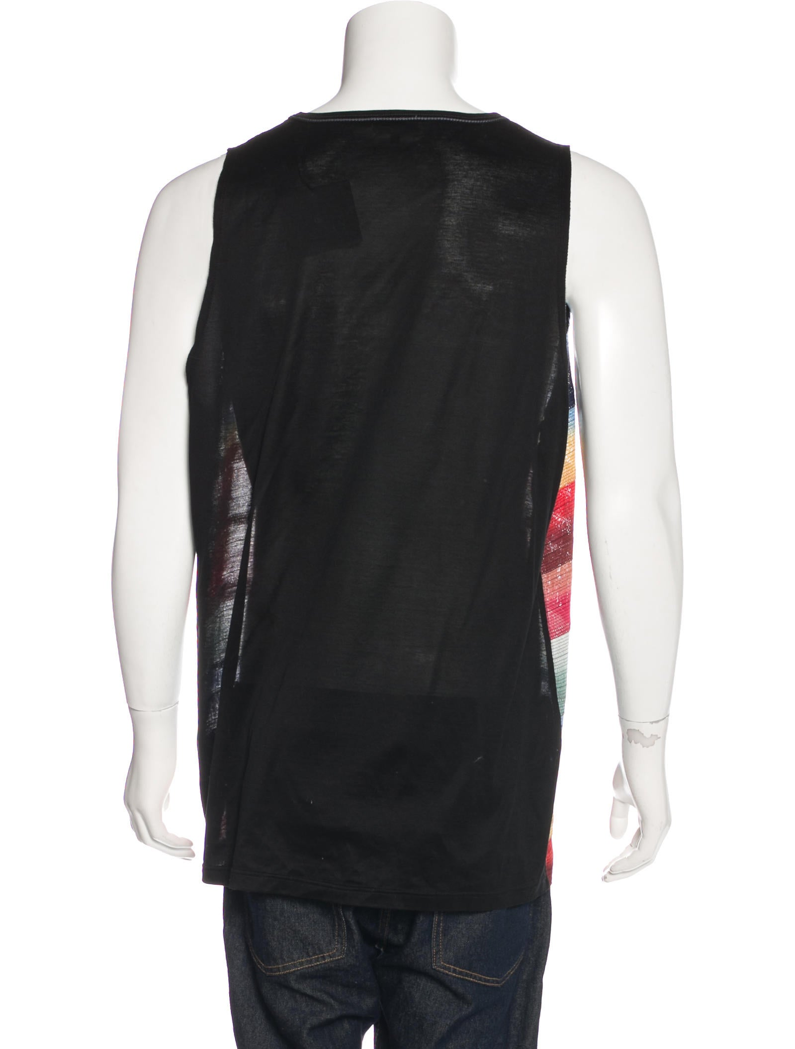 Lanvin ribbon embroidered tank w tags clothing
