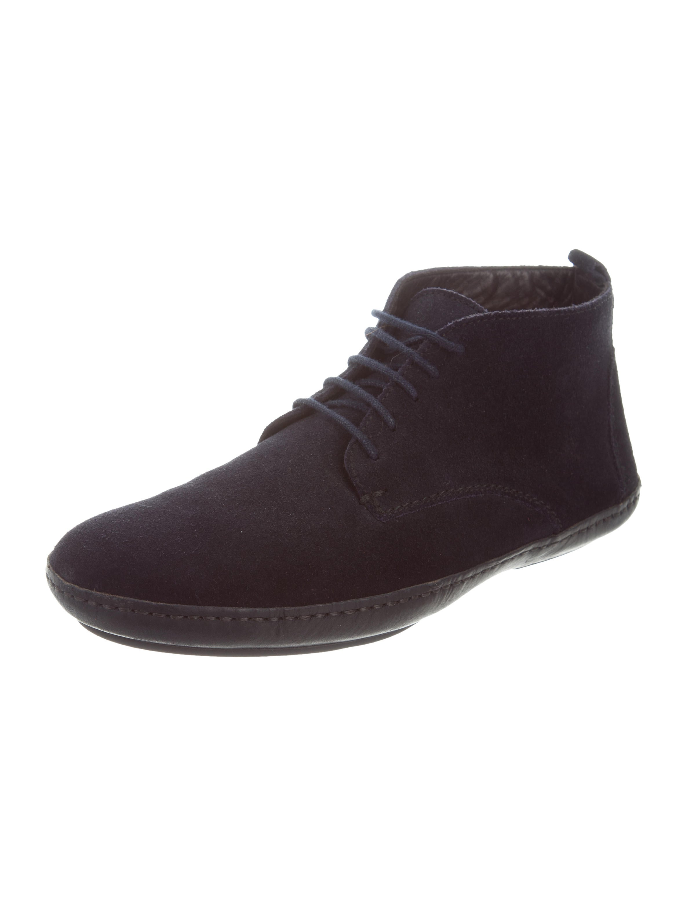 lanvin suede desert boots shoes lan65010 the realreal