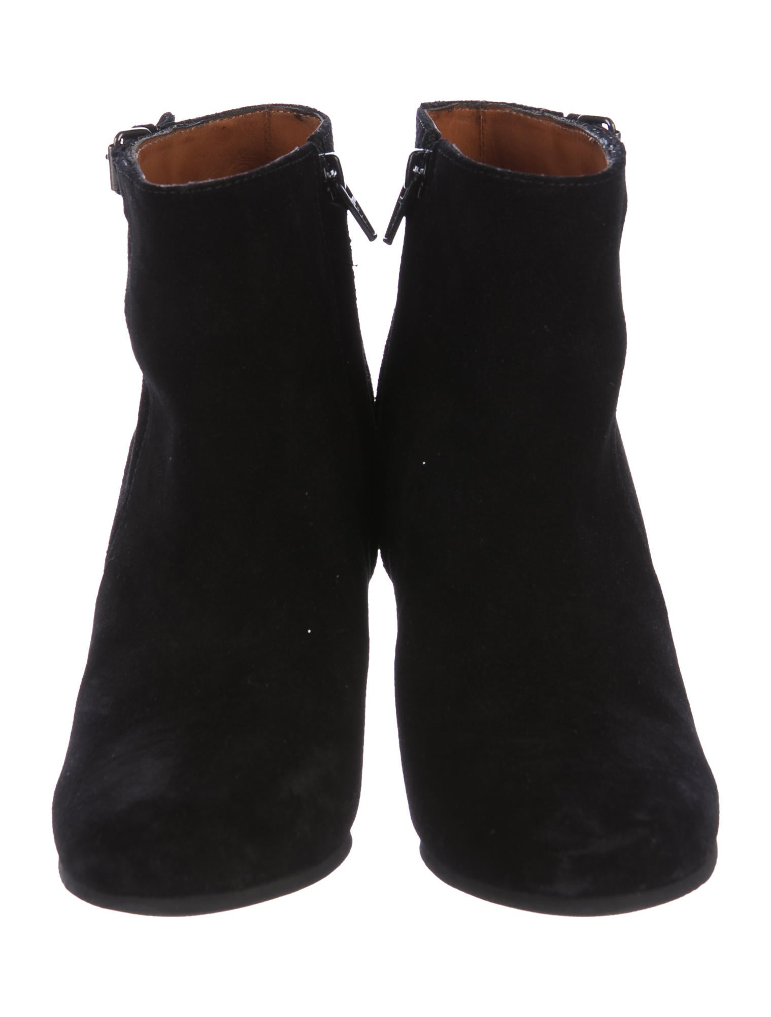 lanvin suede wedged ankle boots shoes lan65040 the