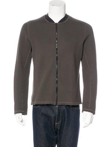 Lanvin Rib Knit Zip Jacket None