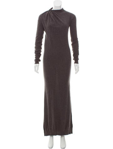 Lanvin Knit Maxi Dress None