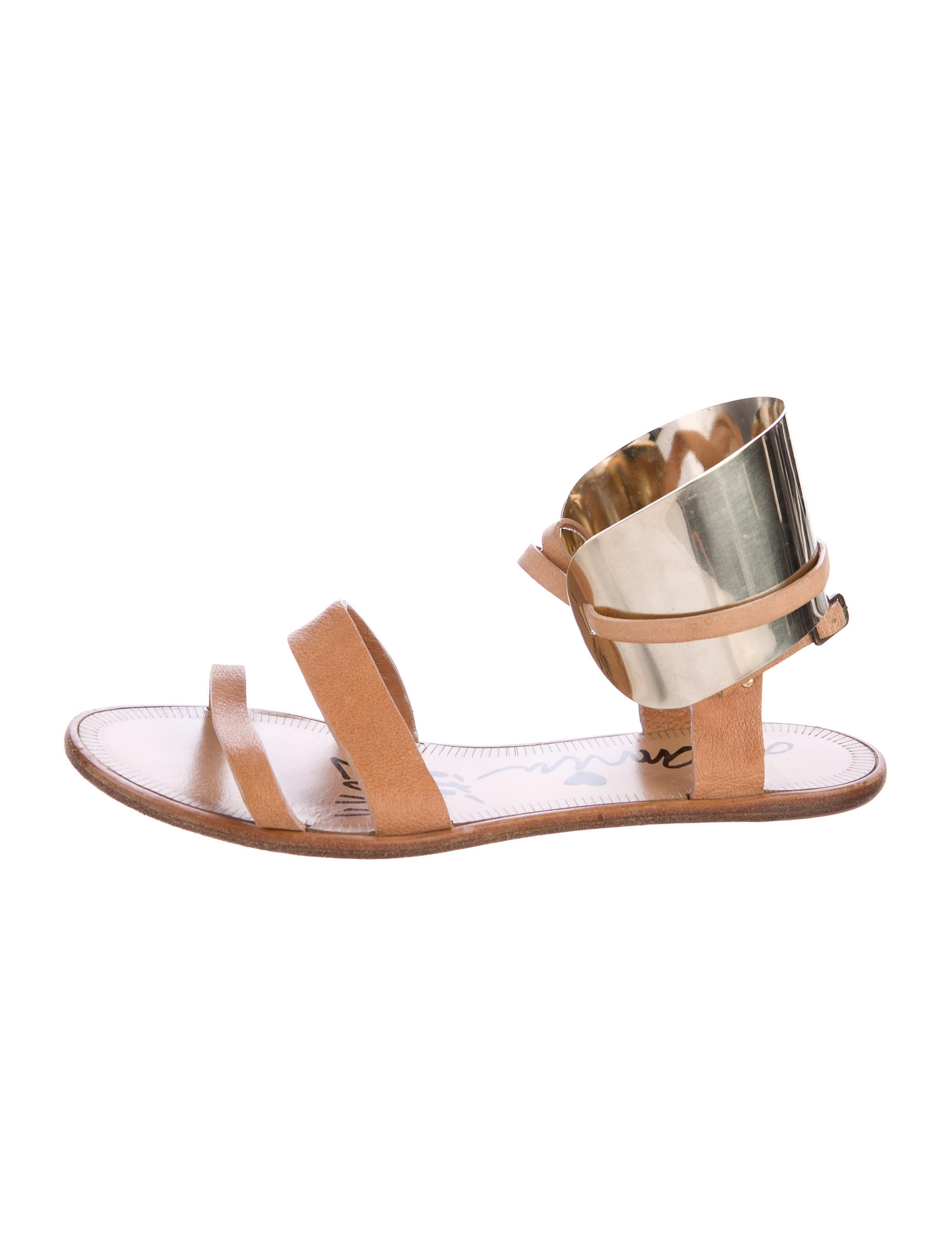 Lanvin Ankle Cuff Sandals free shipping popular For sale online free shipping discounts pFzBrdVM