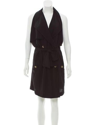 Lanvin Double-Breasted Mini Dress None