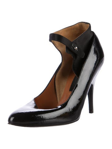 discount reliable Manchester cheap online Lanvin Patent Leather Semi-Rounded Pumps outlet collections 2014 unisex online discount Inexpensive MBF8XH