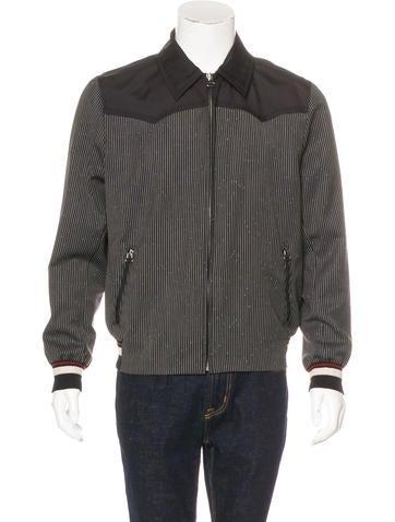 Lanvin Striped Wool Jacket None