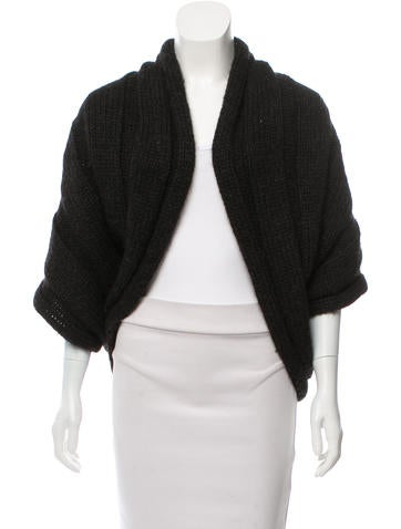 Lanvin Textured Knit Cardigan None