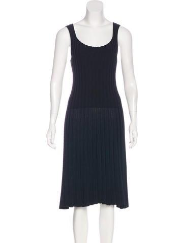 Lanvin Silk Midi Dress None