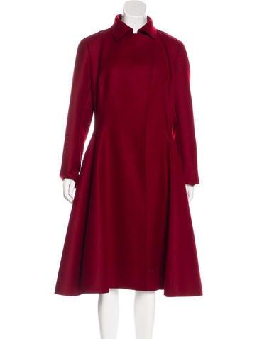 Lanvin Wool Long Coat None