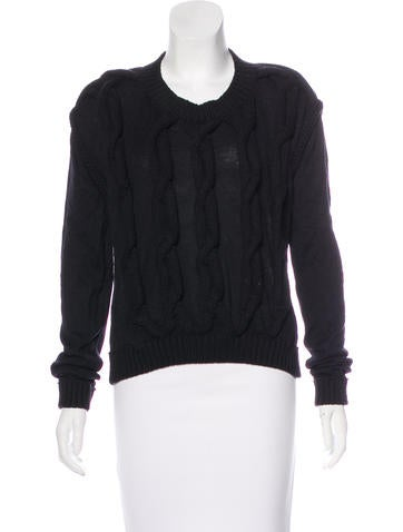 Lanvin 2015 Cable Knit Sweater None