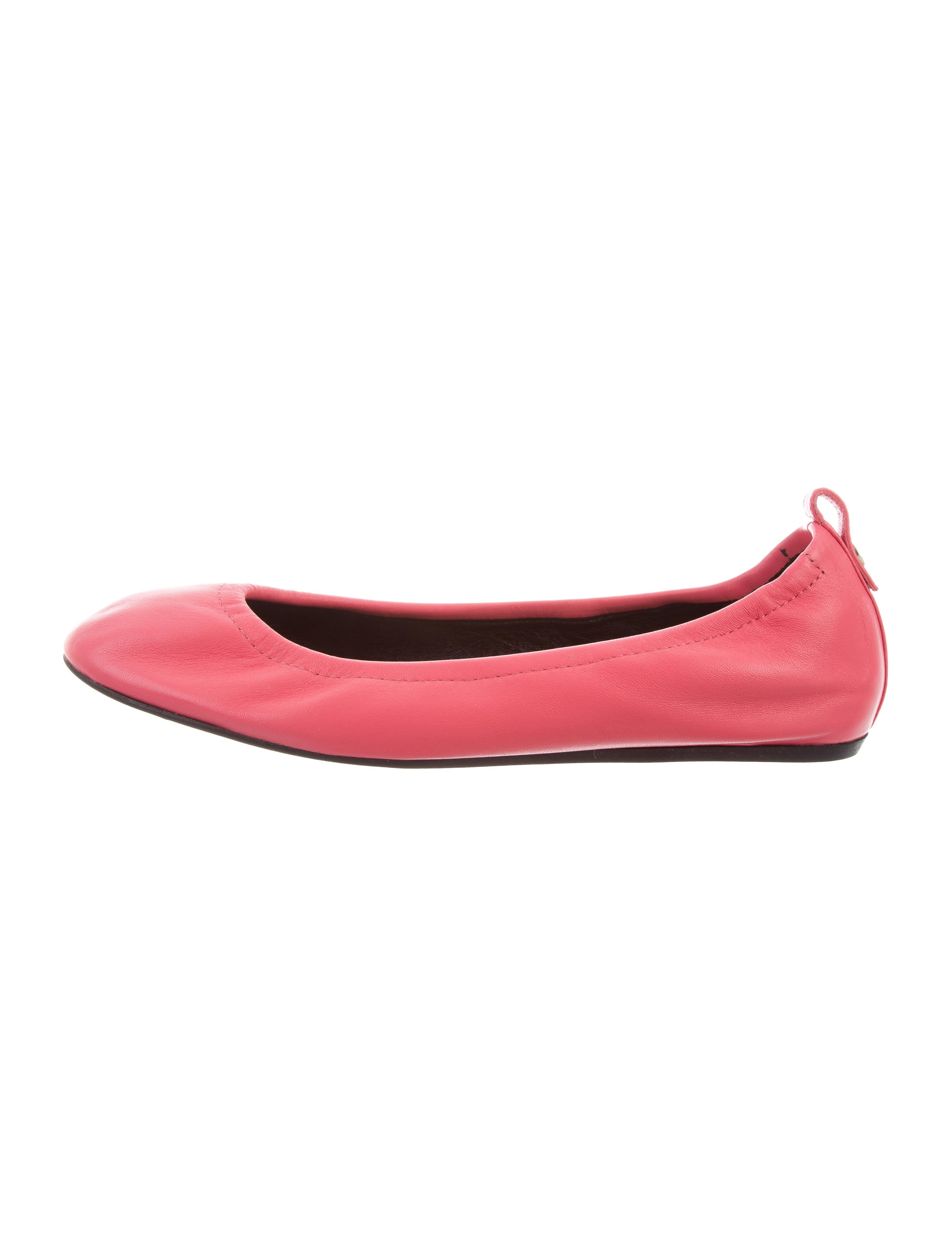 Lanvin Leather Ballet Flats w/ Tags clearance online fake free shipping for sale cheap view Inexpensive online fVvd7wfrGG
