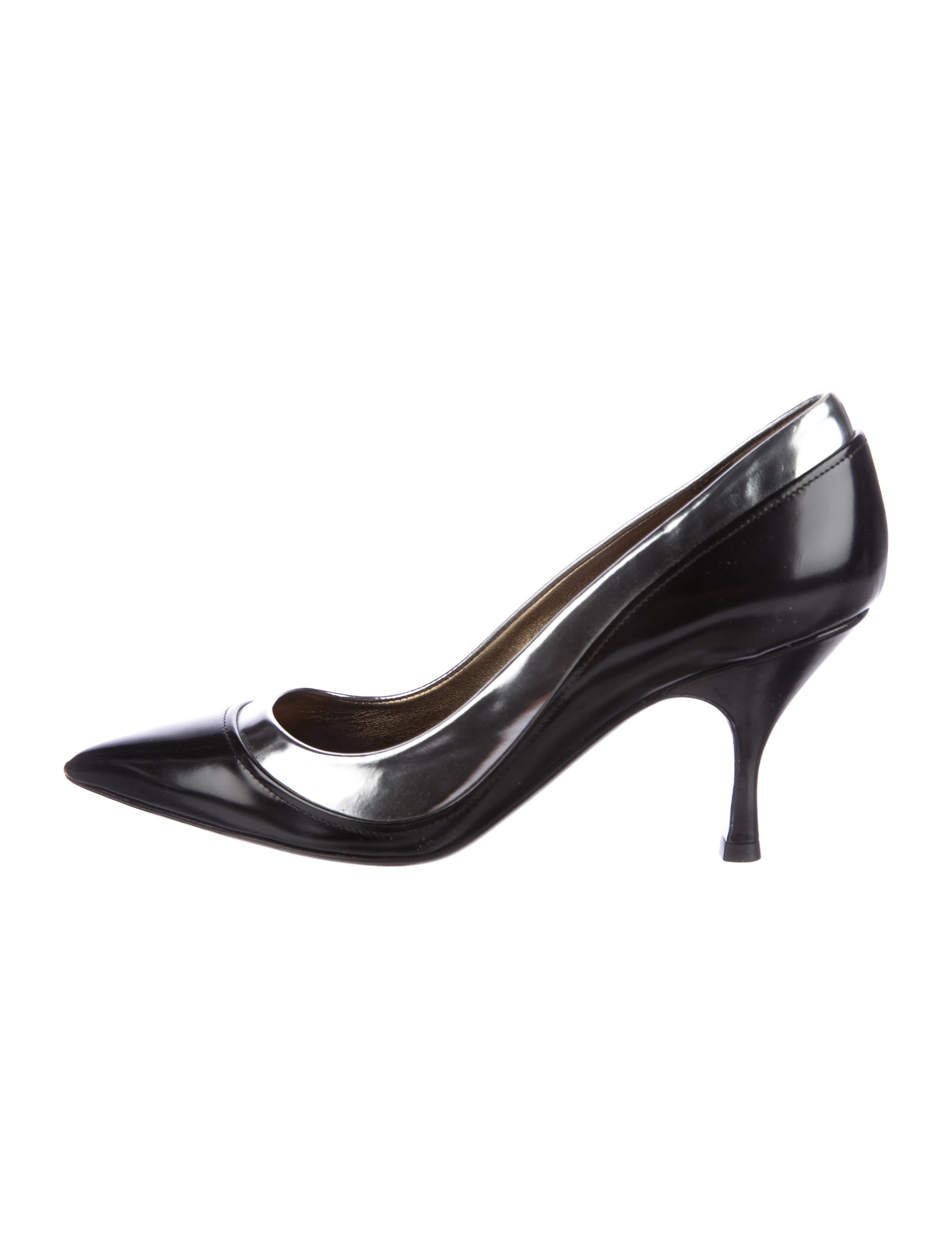 Lanvin Bicolor Pointed-Toe Pumps cheapest price 4GnZRO