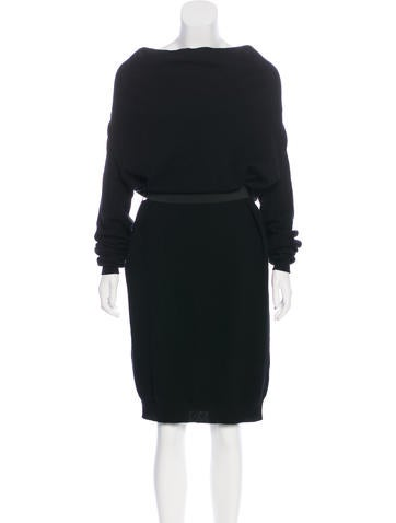 Lanvin Wool Sweater Dress None