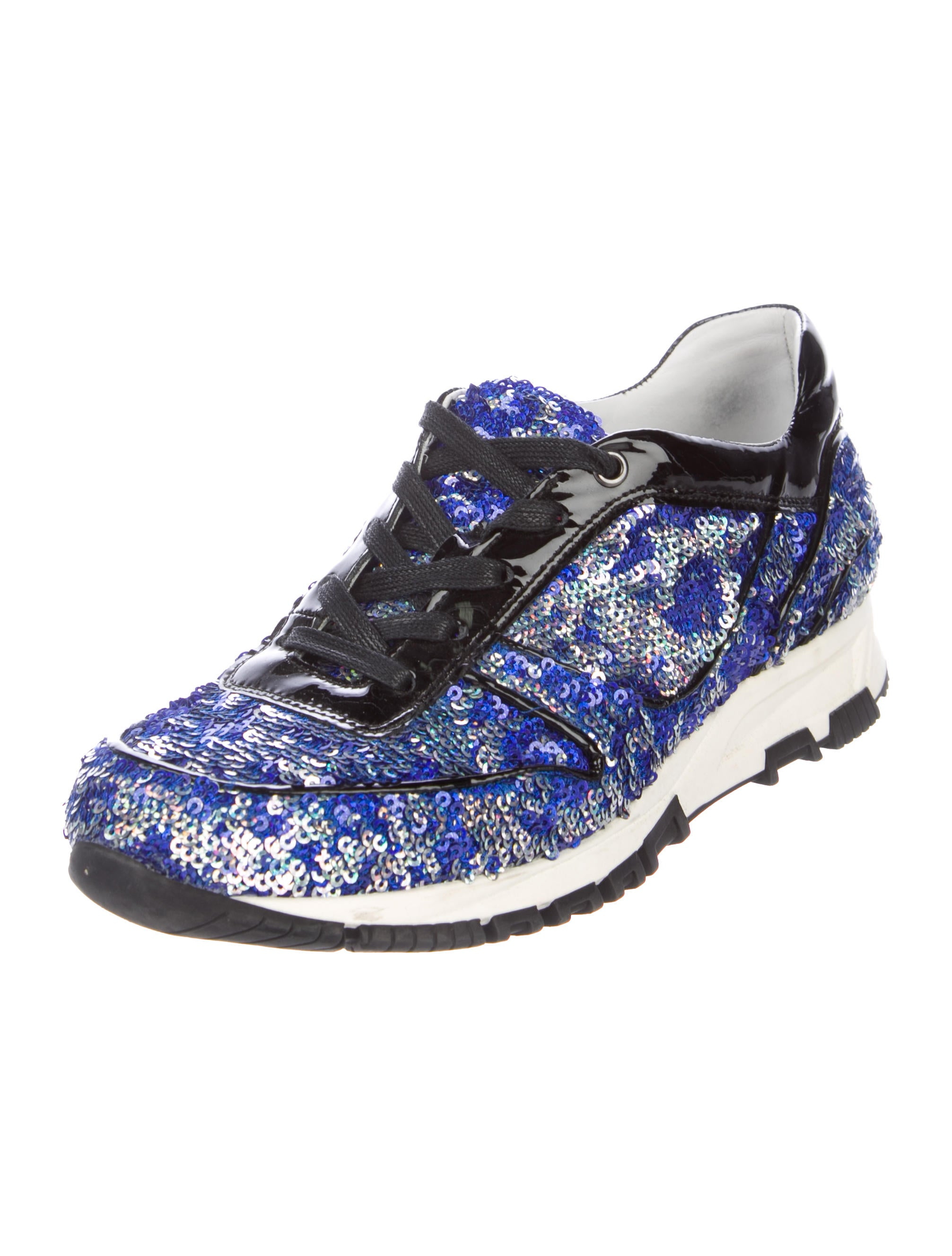 Lanvin Sequin Round-Toe Sneakers cheap sale official site pictures cheap price discount manchester great sale sale latest collections cheap low shipping fee YgL42X