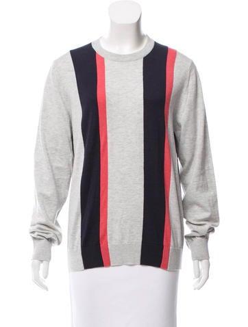 Lanvin Striped Knit Top None