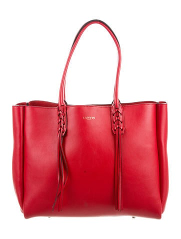 Lanvin Extra Large Shopper Tote None