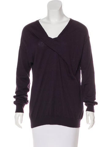 Lanvin Long Sleeve Knit Sweater None