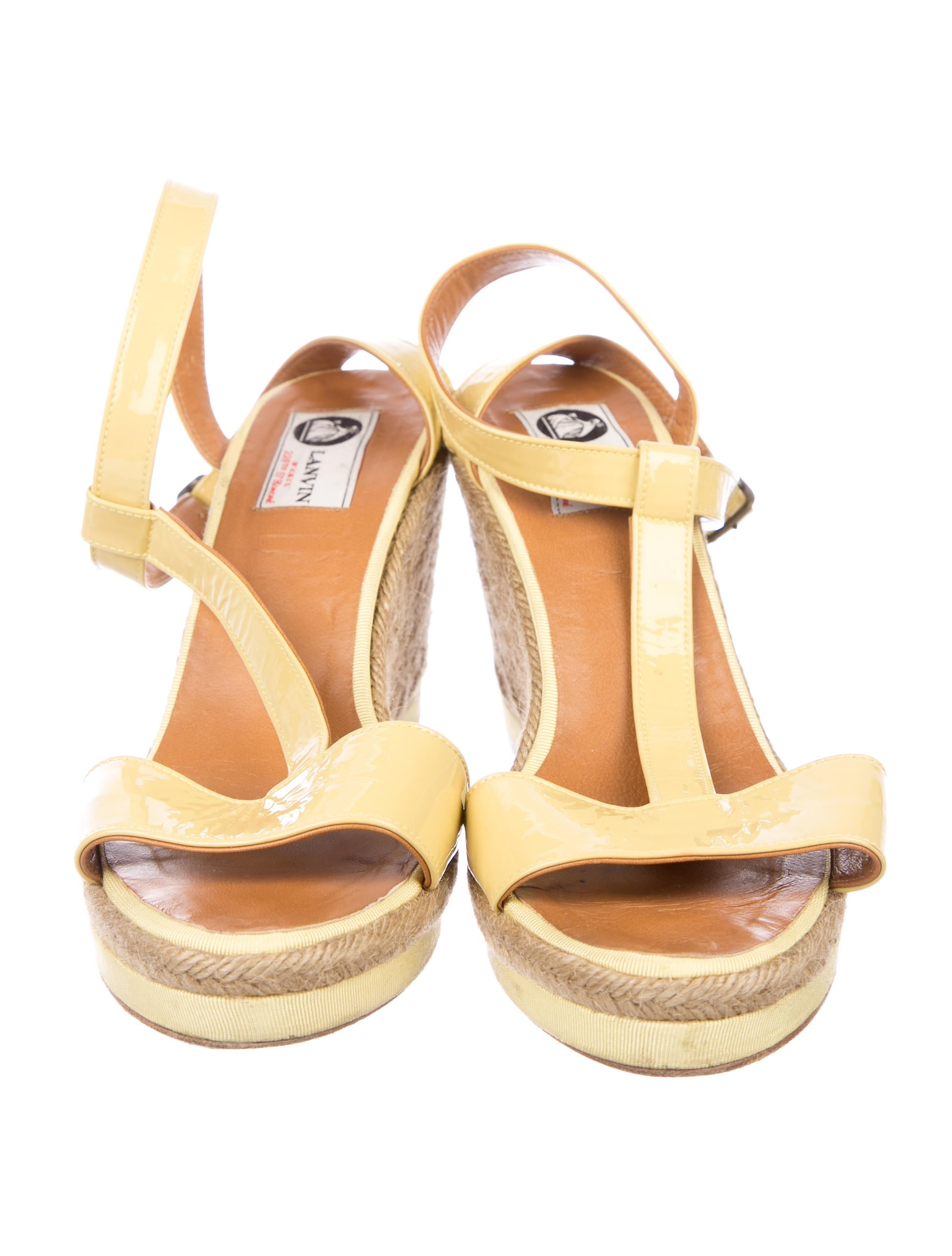 how much Lanvin T-Strap Espadrille Wedges cheap sale Inexpensive wiki online free shipping 2014 newest LsBPgUEW3