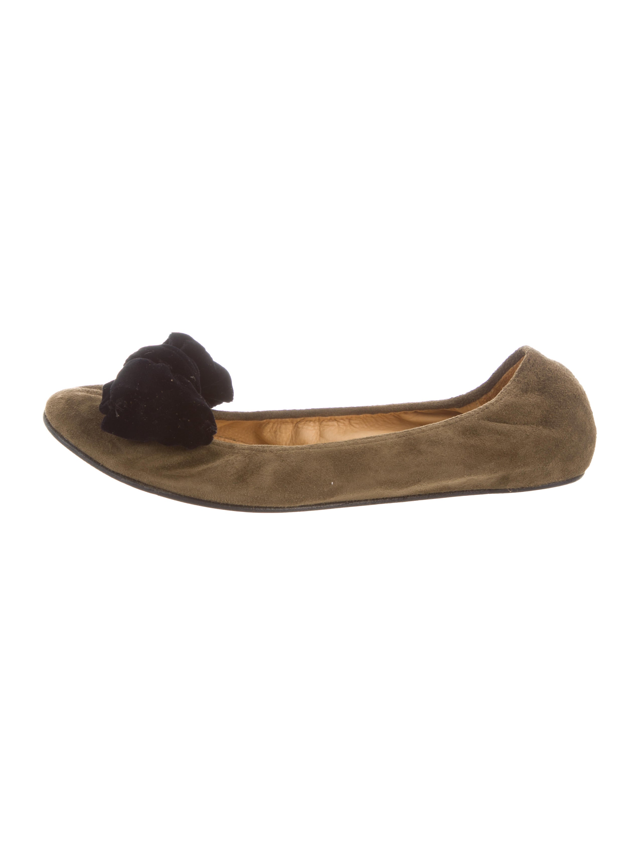 Lanvin Bow-accented Ballet Flats hot sale outlet store locations cheap cost limited edition for sale clearance online official site PM9f8obtZ