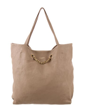 Leather Carry Me Tote