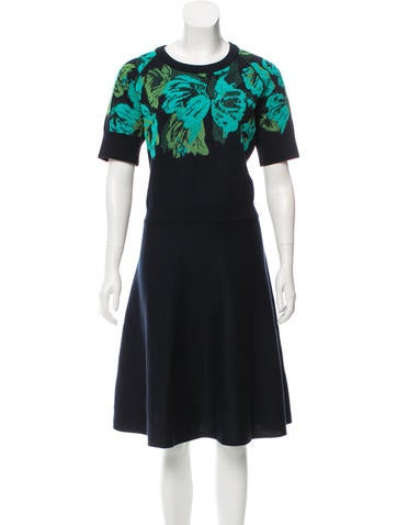 Lanvin Knee-Length Knit Dress None