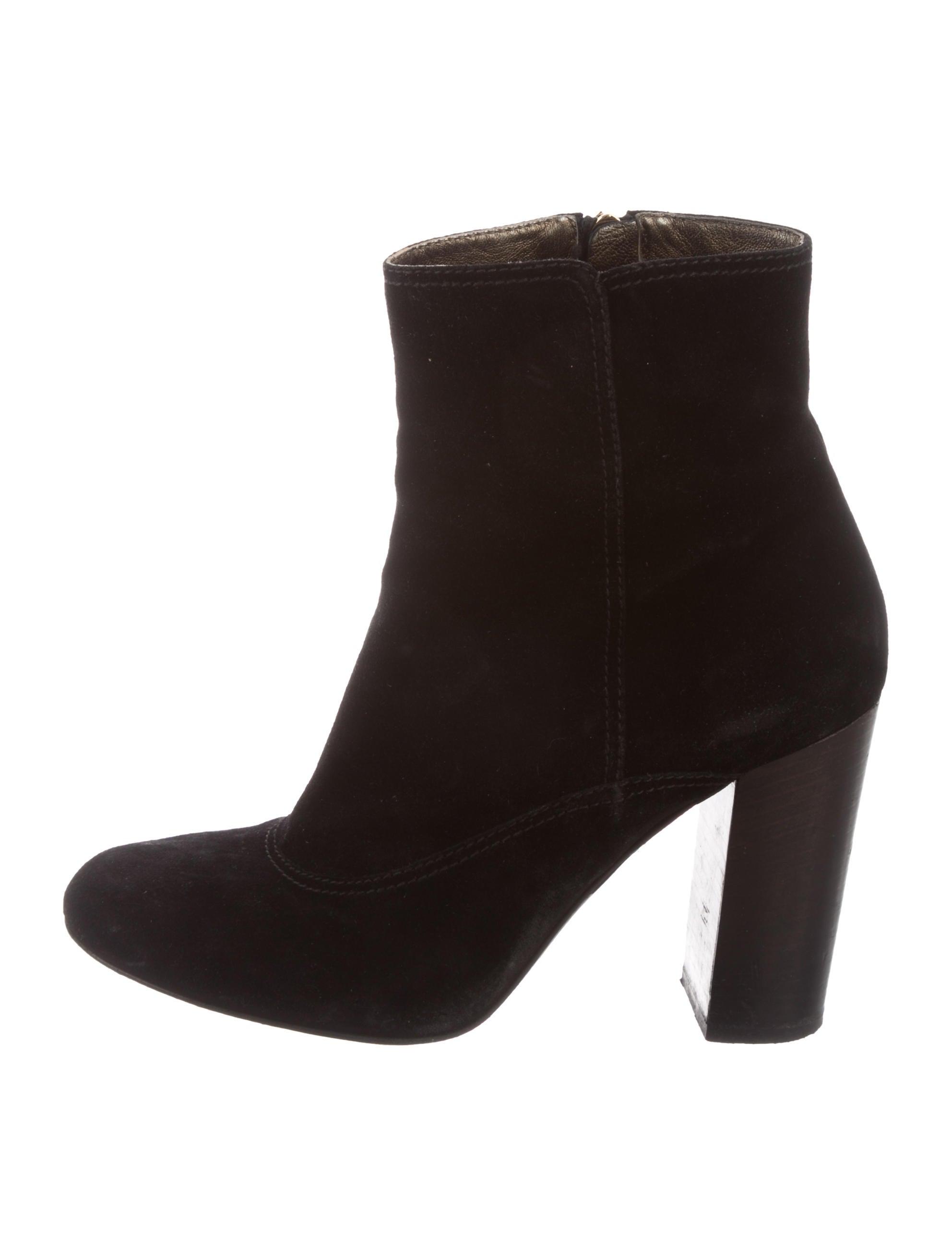 sale limited edition visit cheap online Lanvin Round-Toe Suede Ankle Boots sale visit new hot sale sale online YOq5zRXLCa