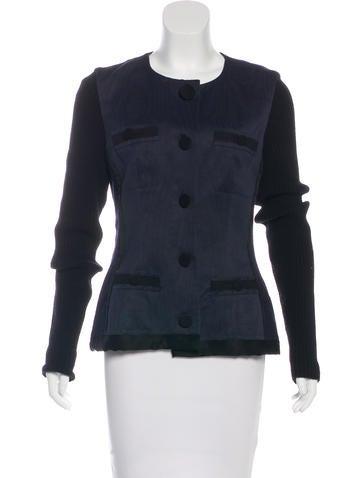 Lanvin Lightweight Wool Jacket None