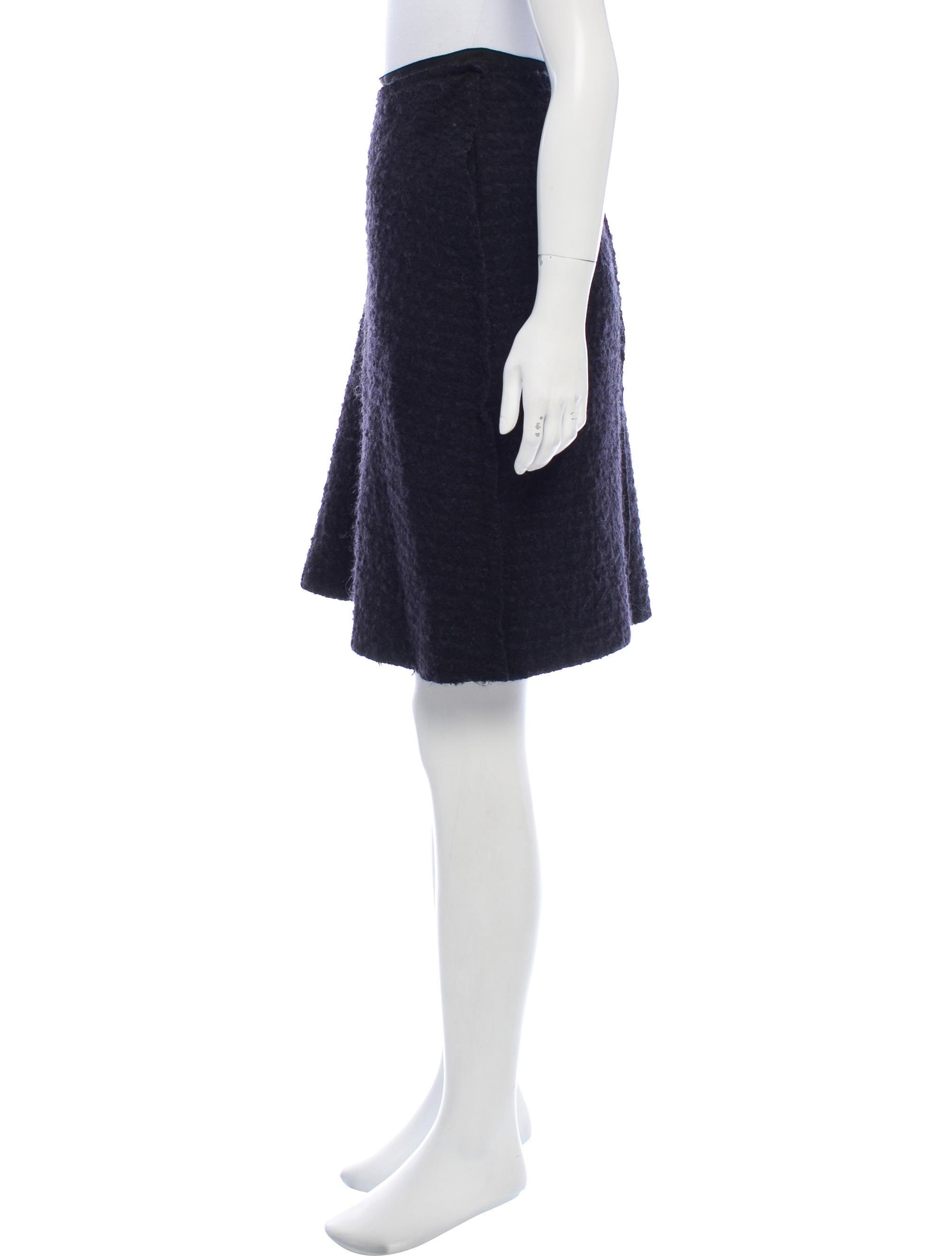 Lanvin Wool-Mohair Knee-Length Skirt Pre Order Cheap Price Cheap Sale Official 2018 New TR8AAe