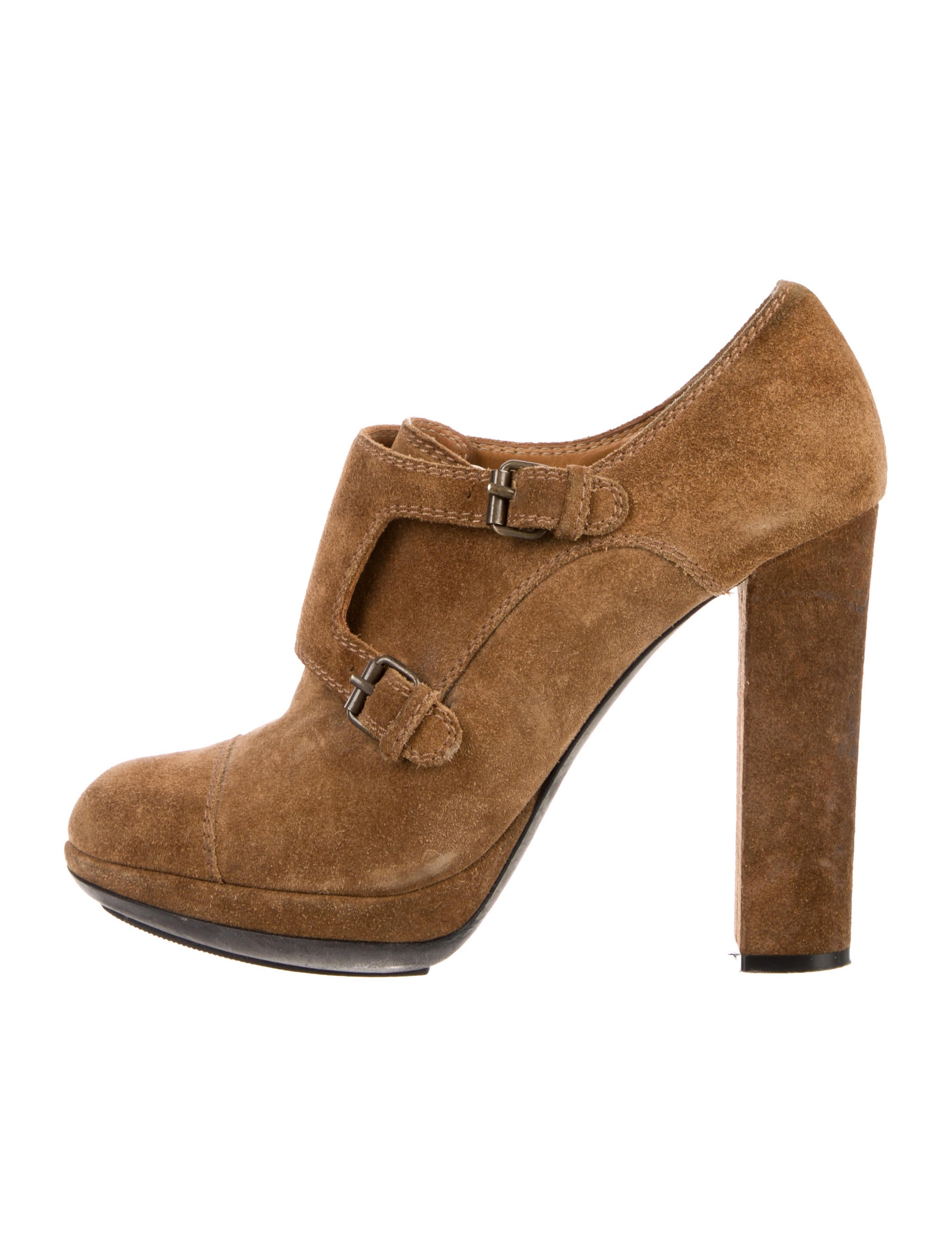 free shipping 100% authentic Lanvin Buckle Suede Booties outlet footlocker pictures free shipping largest supplier J5N0ipiM