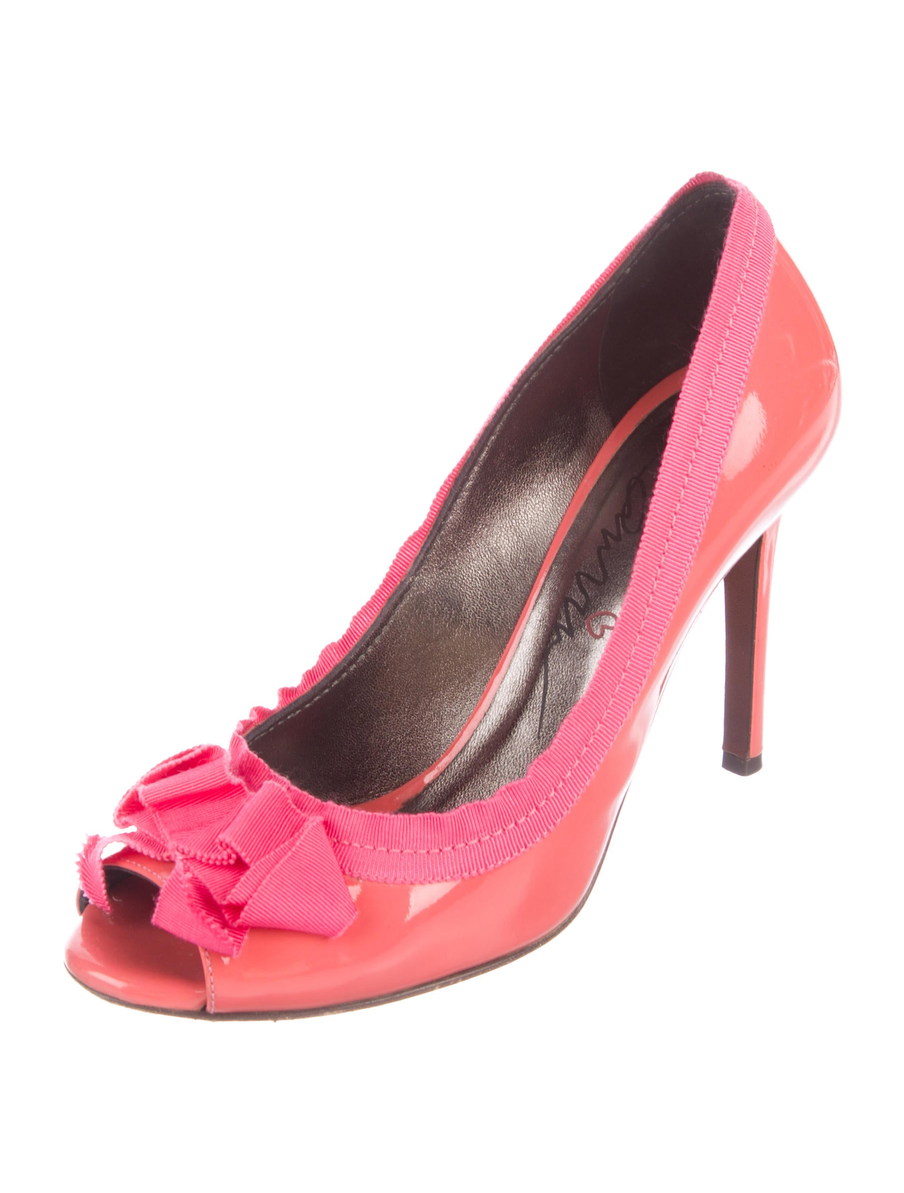 Lanvin Patent Leather Bow Pumps cheap best sale amazing price for sale wide range of cheap price get authentic sale online buy cheap lowest price uWWuHTmk
