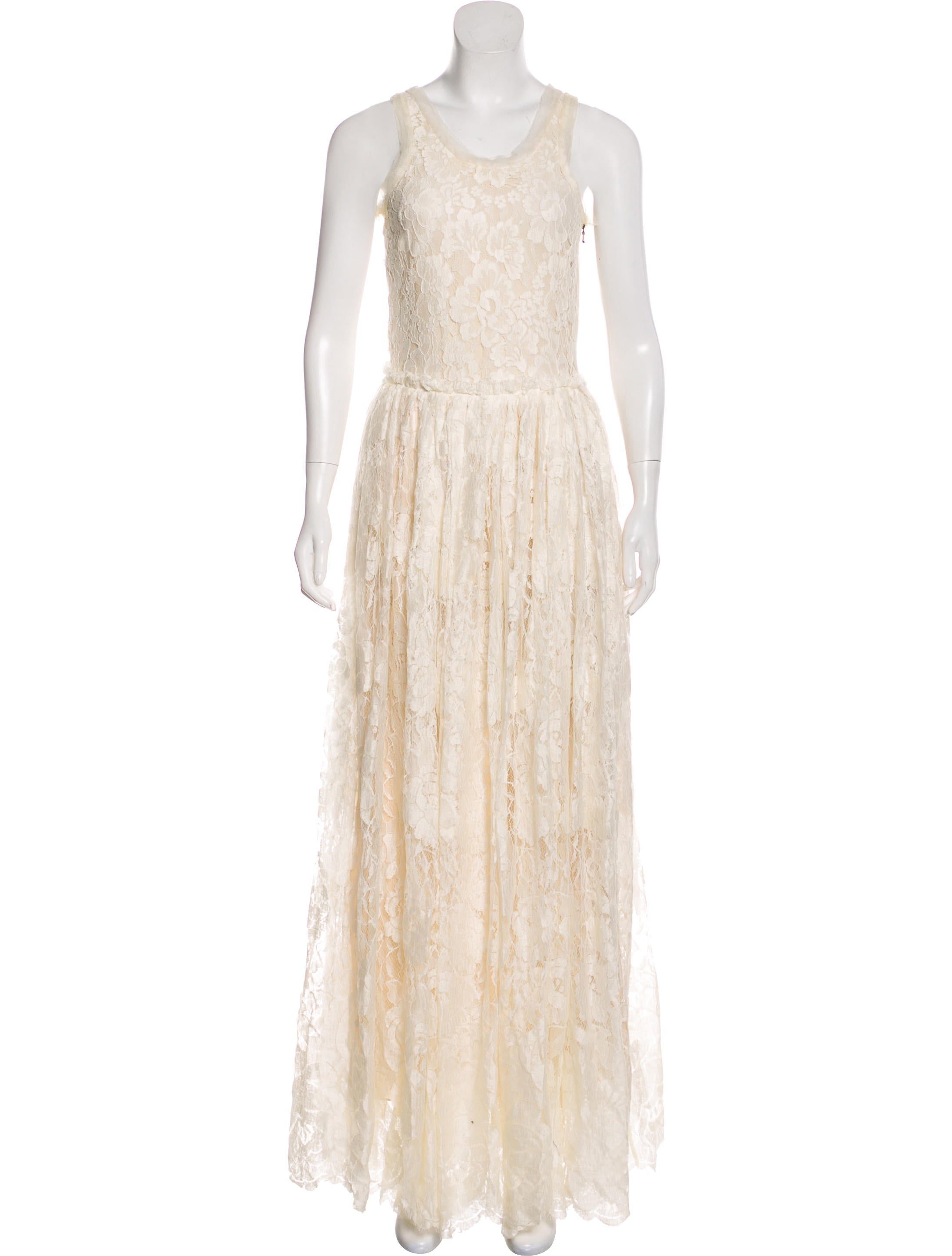 Lanvin Lace Wedding Gown - Clothing - LAN79933   The RealReal