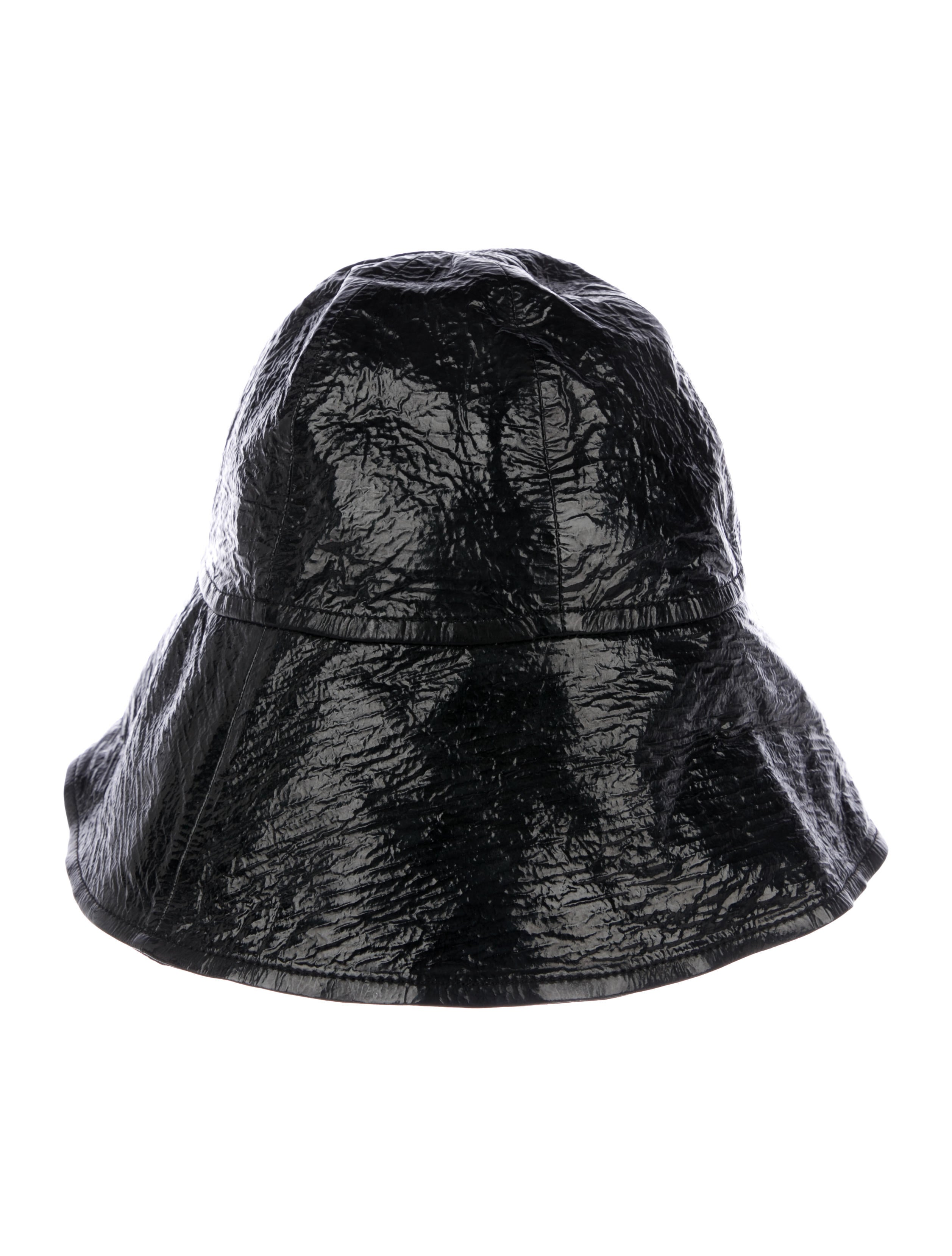 Lanvin Patent Leather Bucket Hat w  Tags - Accessories - LAN91504 ... dcec64758bc