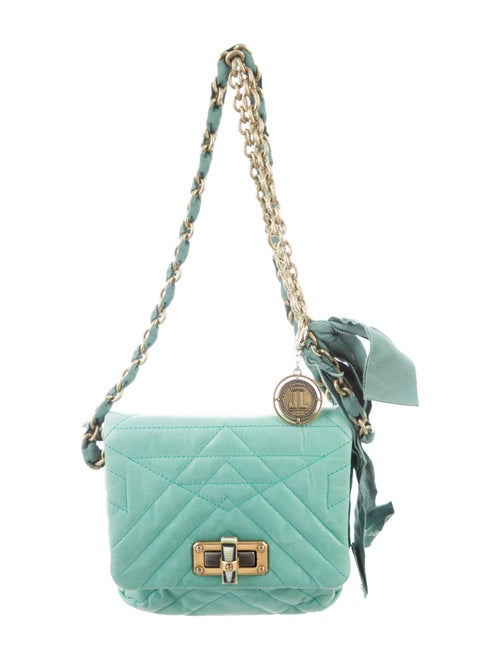 698363747 Lanvin Mini Pop Happy Crossbody Bag - Handbags - LAN98727 | The RealReal