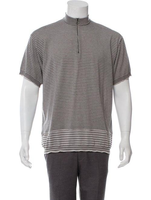 b9a9b7a58bc599 Lanvin Short Sleeve Merino Wool Sweater - Clothing - LAN99375 | The ...