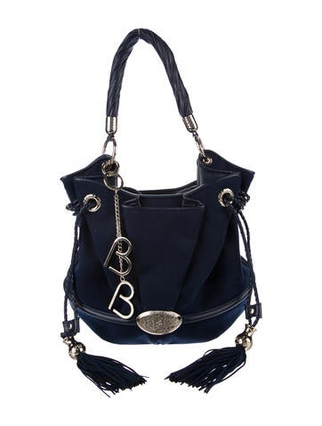 Lancel Brigitte Bardot Alcantara Bag
