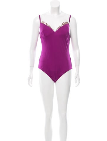 La Perla Embellished One-Piece Swimsuit w/ Tags None