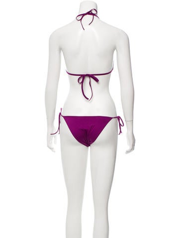 Sequined Two-Piece Swimsuit w/ Tags