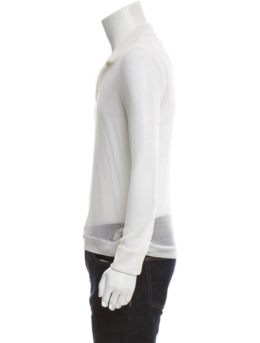 La Perla Long Sleeve Mesh Shirt white - image 2