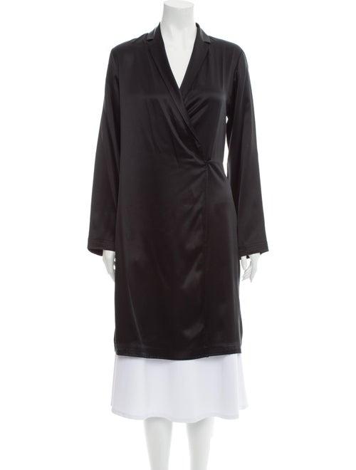 La Perla Silk Robe Black
