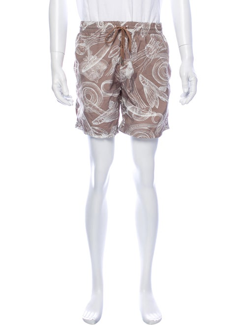 La Perla Printed Swim Trunks