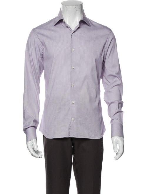 La Perla Long Sleeve Shirt Purple