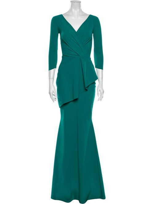 La Petite Robe di Chiara Boni V-Neck Long Dress Gr