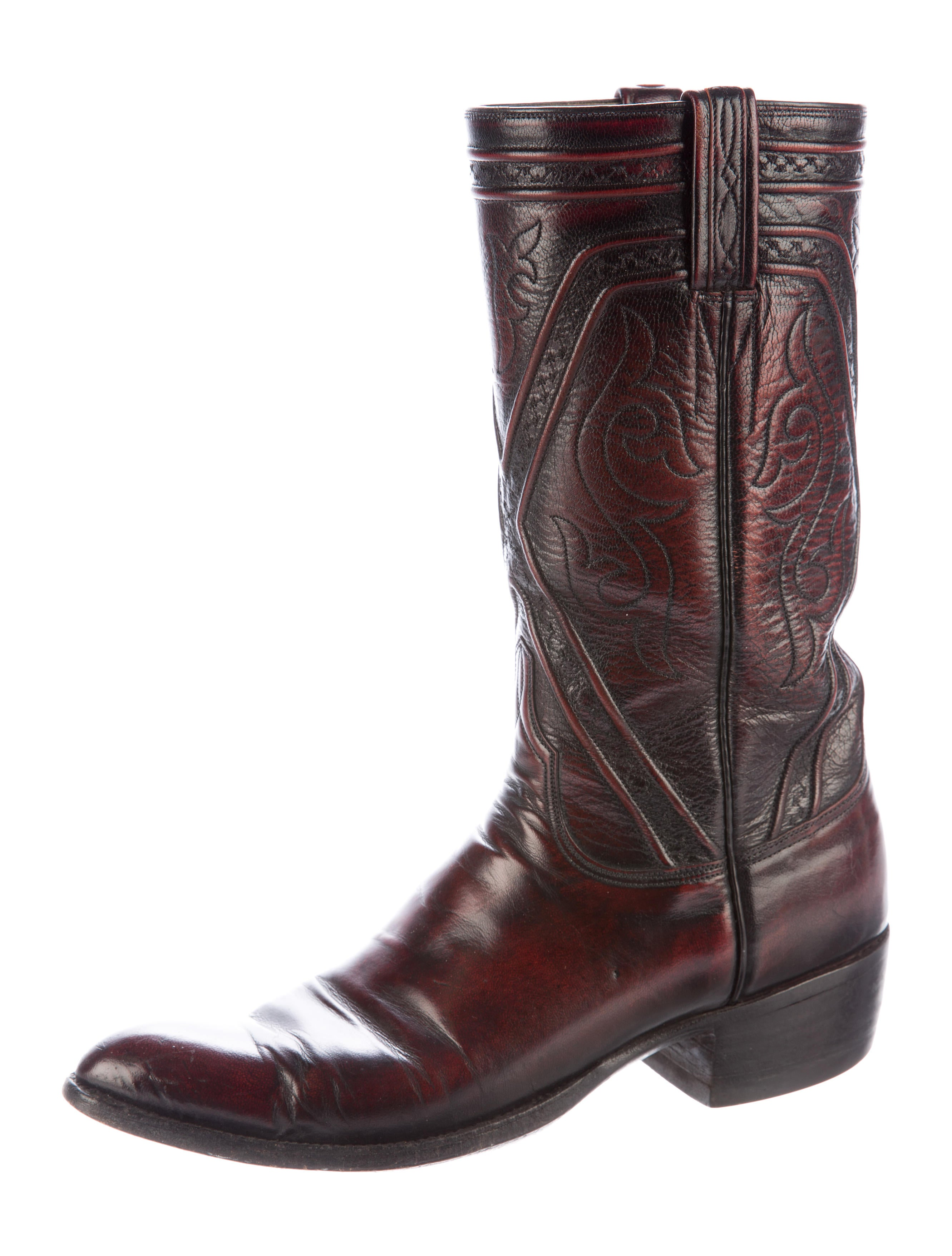 lucchese leather cowboy boots shoes lcc20023 the