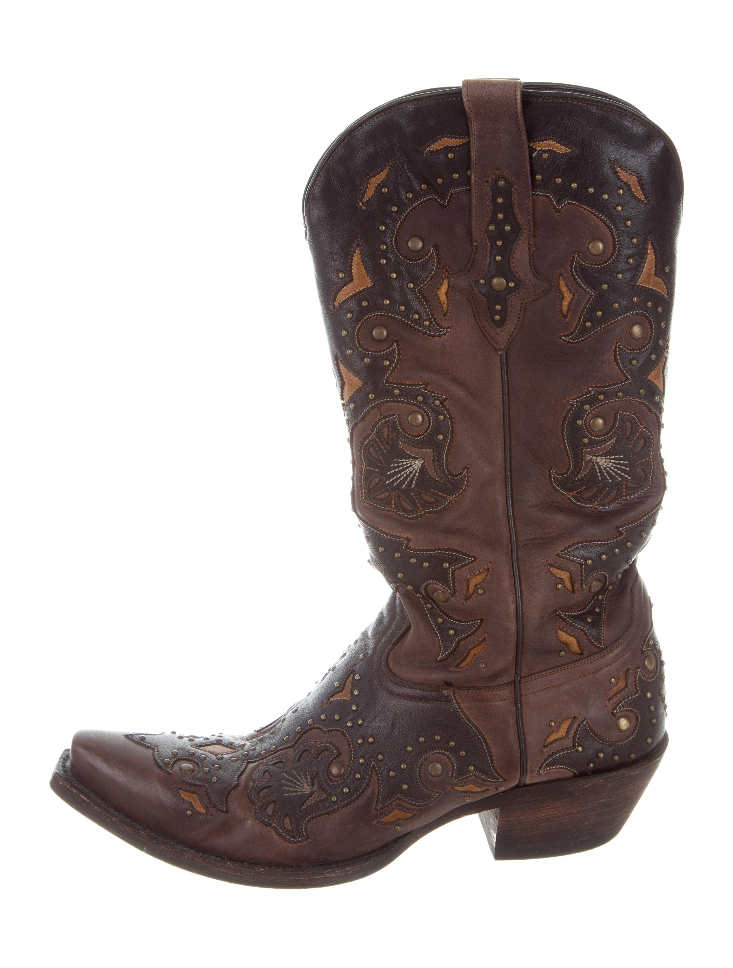 Lucchese Leather Cowboy Boots Shoes Lcc20037 The
