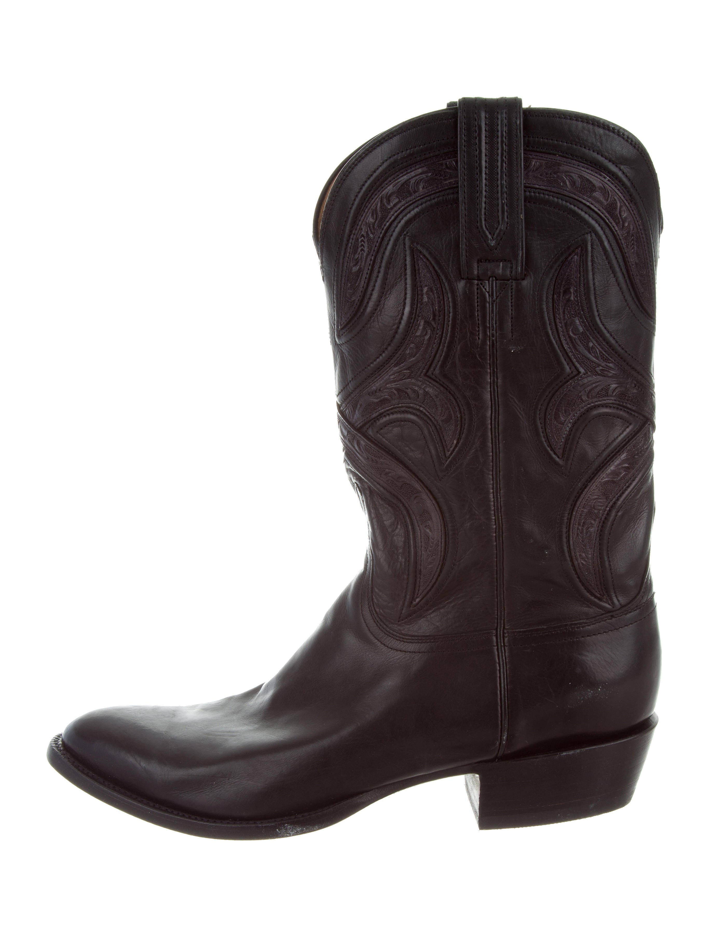 Lucchese Western Leather Boots Shoes Lcc20056 The