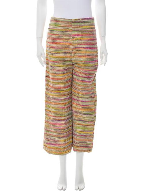 Leal Daccarett Striped Wide Leg Pants
