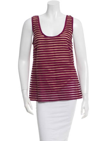 Lela Rose Sleeveless Top None